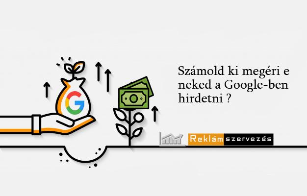 Roi mutató jelentése Google Ads