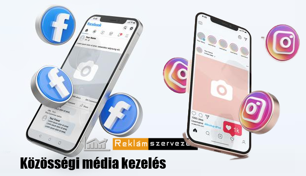 közösségi média kezelés